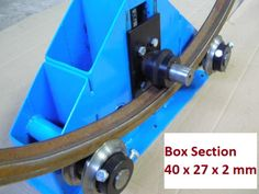 Heavy Duty Ring Roller / Roll Bender - Round Square Flat Bars Tubes Box