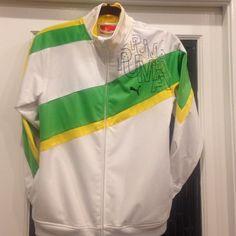 Athletic Jacket. Youth Youth jacket. Great bold colors. Side pockets. Puma Jackets & Coats