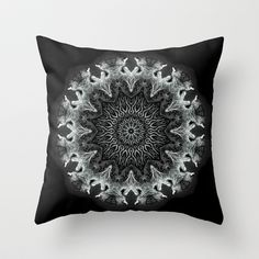 It's Complicated Throw Pillow by Mr. Pattern Man - $20.00