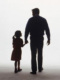 father and daughter silhouette - Google Search