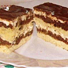 Banana Cream, Nutella, Tiramisu, Deserts, Cookies, Baking, Cake, Ethnic Recipes, Cream Pies
