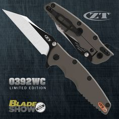 This is the new #ZT0392WC by Zero Tolerance Knives
