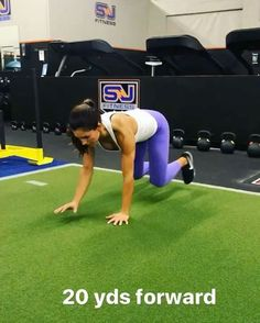 "5,435 Likes, 66 Comments - Alexia Clark (@alexia_clark) on Instagram: ""No weights needed circuit!  1. 20 yds forward  2. 29 yds reverse  3. 10 sit to box jumps  4. 15…"""