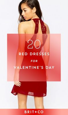 Straight up slay this V-Day in one of these red dresses.