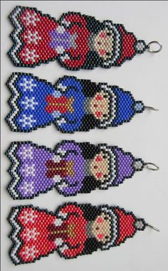Little Girl Ornament / Pendant. Girls bedroom decoration/Ornament. Seed bead beadwork ornament. by MilenasBoutique on Etsy https://www.etsy.com/listing/493550293/little-girl-ornament-pendant-girls