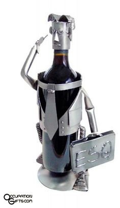 This Esquire Male Wine Caddy from our friends at H&K Steel Sculptures is the perfect gift: Just add a bottle o Hanging Wine Glass Rack, Wine Caddy, Lawyer Gifts, Steel Sculpture, Aleta, Wine Bottle Holders, Gag Gifts, Esquire, Cool Gifts