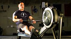 The rowing machine may be the best conditioning tool out there for strength athletes. Here's how to use it.