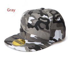 2016 New Fashion Sports Men s Baseball Caps Solid Camo Snapback Caps Gorras  Planas 8e634e8154b