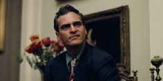Joaquin Phoenix looking snarly in PT Anderson's The Master