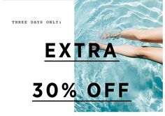 Madewell: Extra 30% off sale. Three days only. | Milled
