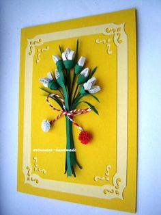 Atelier hirtie-quilling, felicitari -Monatibi. - Pagina 18 Quilling, Handmade, Atelier, Hand Made, Craft, Quilting, Quilts, Paper Quilling, Arm Work