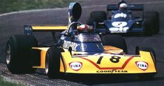 John Watson - Surtees TS16 - 1975 - Dutch GP Zandvoort (background Jody Scheckter - Tyrrell 7)