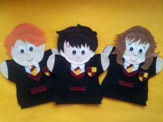 The Best Felt hand puppets online. Lisa Puppet Maker also does custom orders. Puppets make great teaching aids for school, daycare, special needs and therapy. Order your puppets today! Harry Potter Puppets, Harry Potter Felt, Puppets For Sale, Potters Clay, Yer A Wizard Harry, Puppet Making, Hand Puppets, Sewing For Beginners, Felt Animals