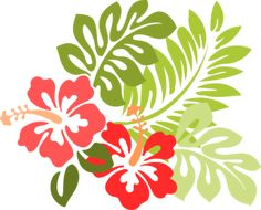Hibiscus clip art - vector clip art online, royalty free & public domain