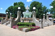 Culbertson Fountain in downtown Paris, Texas. One of the best places for having pictures taken. I miss it!