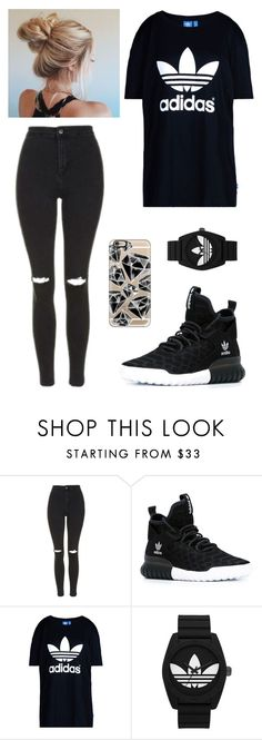 """Adidas 210"" by mrswilkinson ❤ liked on Polyvore featuring Topshop, adidas, adidas Originals and Casetify"