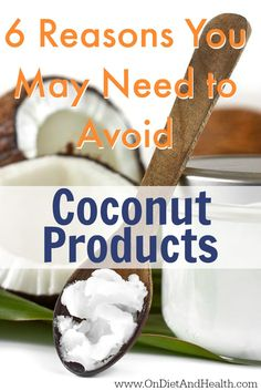 Reasons You May Need to Avoid Coconut Products Are products harming your health? Learn 6 reasons why you may need to avoid this staple food // Are products harming your health? Learn 6 reasons why you may need to avoid this staple food // Coconut Milk Benefits, Coconut Milk Nutrition, Canned Coconut Milk, Coconut Flour, Coconut Oil Weight Loss, Weight Loss Water, Weight Loss Diet Plan, Lose Weight, Pasta Nutrition