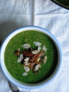 Leek potato broccoli soup