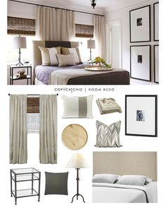 A layered traditional master bedroom designed by @lizhandwoods and recreated for only $669 by @audreycdyer for Copy Cat Chic #roomredo