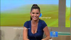 Ana Patricia Gonzalez on Despierta America -- 6/27/2012 ~ YogaFrogCaps
