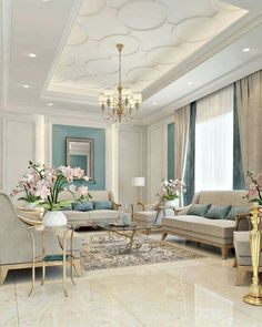 By the era of masterpieces, the trend of classic Era will bring you a royal feeling is part of Ceiling design bedroom - House Ceiling Design, Ceiling Design Living Room, False Ceiling Living Room, Home Room Design, Living Room Interior, Home Interior Design, Living Room Designs, Modern Ceiling Design, Modern Living Room Design