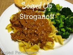 Posed Perfection: Souped Up Stroganoff
