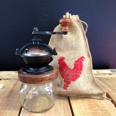 Red Rooster Camino Coffee Mill