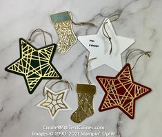 Creating with Tidings of Christmas Suite & Card Samples using Page 88 Card Sketch Designs (video & download - 9 of 10) - Create With Terri Gaines Homemade Christmas Cards, Stampin Up Christmas, Christmas Gift Tags, Christmas Ideas, Xmas, Star Cards, 21 Cards, Fun Fold Cards, Sketch Design