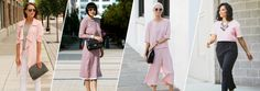 Lucky Looks Of The Week: How To Wear Pink