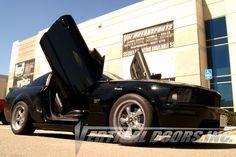 Vertical Doors, Ford Mustang, Mustang Cars, Door Kits, American Sports, Sport Cars, Car Accessories, Dream Cars, Monster Trucks