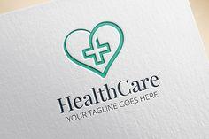 Health Care Logo by EngoCreative.com on Creative Market