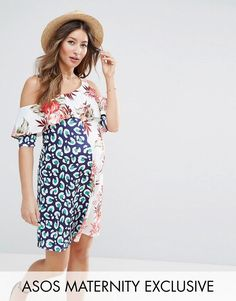 Free Shipping For Cheap Outlet Manchester Exclusive Mix Print Floral Top - Multi Asos Curve T37xMS