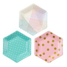 PAPER PLATES and cool party stuff! Another great find on Geometric Hexagonal Paper Plate Set of 24 by Talking Tables A Birthday Party, Cat Birthday, Happy Birthday, Foil Curtain, Sweet Party, Design3000, Pastel Paper, Pink Paper, Cowboy Party