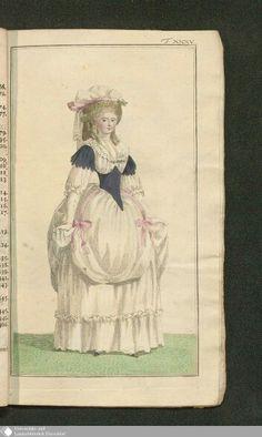December 1786  Journal des Luxus under der Moden