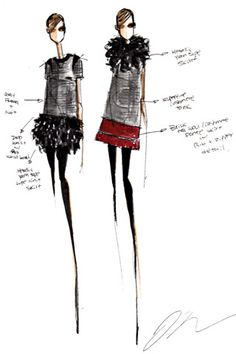 #FashionIllustion for TSE Fall 2010 collection