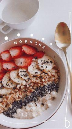 Healthy Breakfast - New Ideas Healthy B. - Healthy Breakfast – New Ideas Healthy Breakfast - Healthy Breakfast Recipes, Healthy Recipes, Healthy Morning Breakfast, Morning Food, Snap Food, Food Goals, Aesthetic Food, Love Food, Cravings