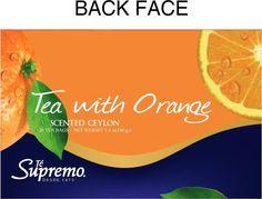 reformulación packaging té supremo sabor naranja