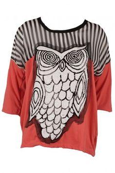 Owl Blouse