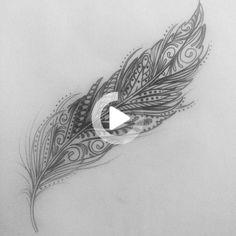 Wrist tattoo #wristtattoos Feather Tattoo Design, Feather Tattoos, Foot Tattoos, Body Art Tattoos, Sleeve Tattoos, Tattoo Bird, Feather Arrow Tattoo, Inner Wrist Tattoos, Feather Quotes