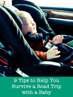 9 Tips for Taking a Road Trip with a Baby..... This will be a lot easier now that we'll have extra room its a good idea to pack a bag full of toys!!