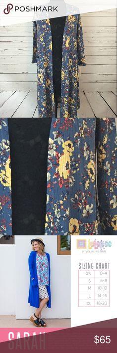 0da66e1c NEW LuLaRoe Sarah Duster Cardigan Size XS NEW LuLaRoe Sarah Duster Cardigan  Size XS Colors: