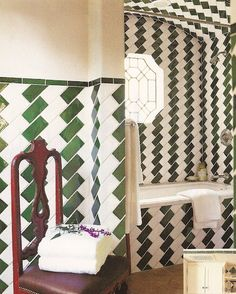 Tile on the diagonal