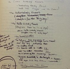 """Ernest Hemingway, on choosing titles: """"I make a list of titles after I've finished the story or the book—sometimes as many as one hundred. Then I start eliminating them, sometimes all of them. Ernest Hemingway, Lists To Make, Latest Generation, Book Title, How To Become, How To Make, Journal Pages, Sheet Music, Authors"""