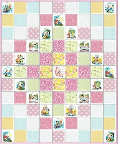PlaydatePrecut Quilt KitLittle Girl or Baby's by specialjays