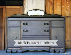 Reclaim Beyond Paint Black Furniture Project