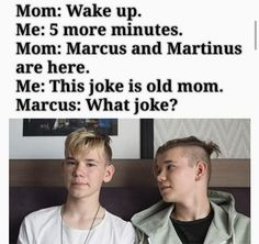 30 Days Idol Challenge {Marcus & Martinus G. Dream Boyfriend, Funny Memes, Jokes, Wake Up, Fangirl, Haha, My Life, Idol, Love You