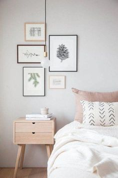 Stylish and beautiful wall decor featuring a pine cone. Professionally printed on a special watercolor textured paper 90 gm/m. Any other size is possible… Decoration Bedroom, Home Decor Bedroom, Bedroom Wall, Bedroom Furniture, Diy Home Decor, Bed Room, Diy Bedroom, Bedroom Apartment, Nordic Bedroom