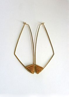 Geometric bib necklace, silver tone statement necklace, long bib ...