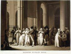 Louis-Léopold Boilly French, 1761-1845 Palais Royal