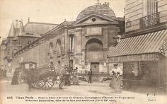 Photo insolite : Vieux Paris 027…   Bouzou's Weblog Rue Des Archives, Abandoned Buildings, Paris Rue, Louvre, France, Travel, Old Paris, Olive Tree, Antique Pictures